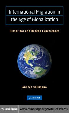 International Migration in the Age of Crisis and Globalization EB9780511771569