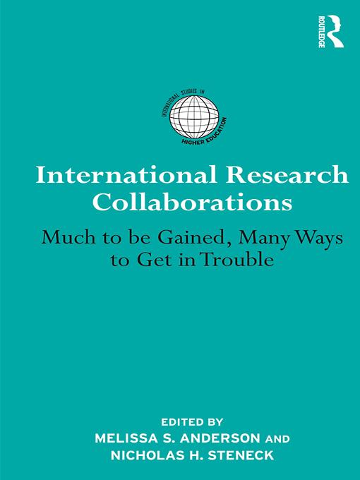 International Research Collaborations EB9780203848906