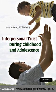 Interpersonal Trust During Childhood and Adolescence EB9780511741128