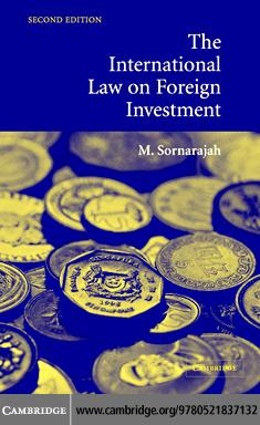 Intl Law on Foreign Investment 2ed EB9780511207747