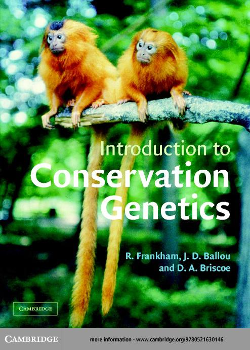 Introduction to Conservation Genetics EB9780511074455