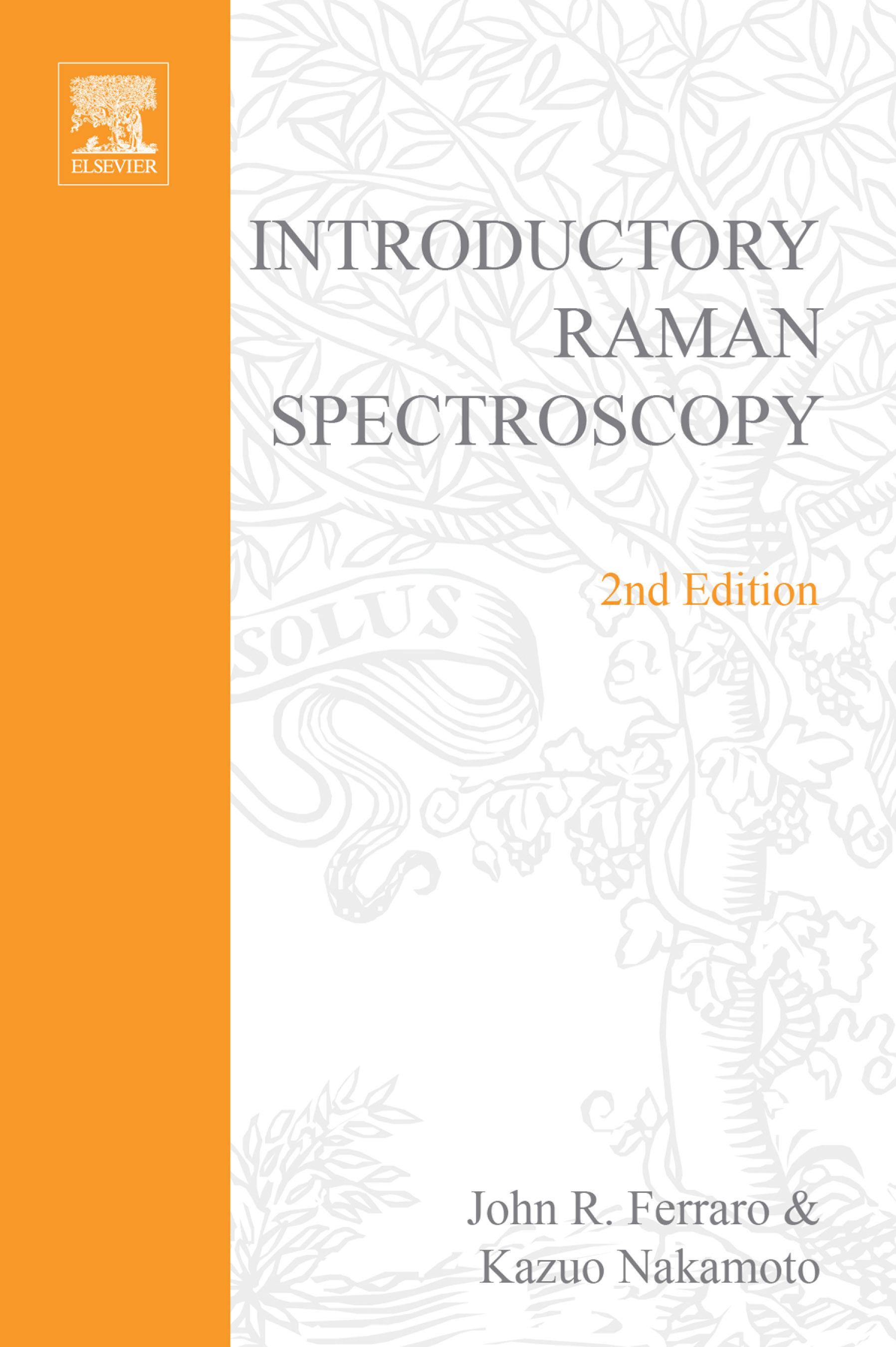 Introductory Raman Spectroscopy EB9780080509129