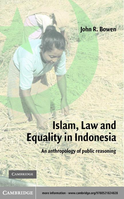 Islam, Law, and Equality in Indonesia EB9780511056048