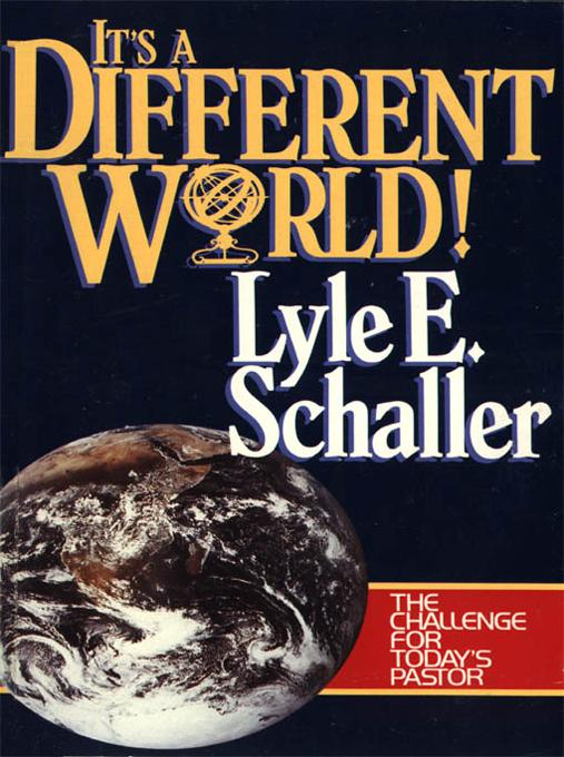It's a Different World EB9780687028795