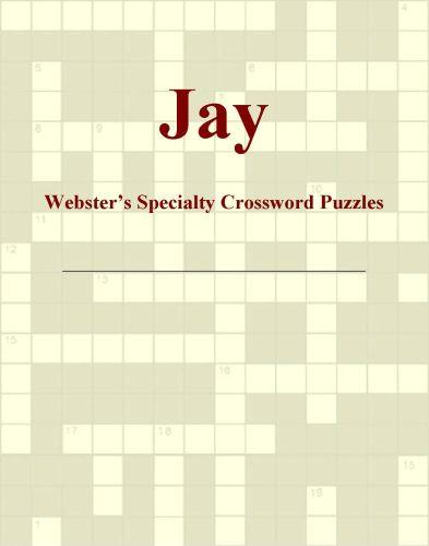 Jay - Webster's Specialty Crossword Puzzles EB9780546428087