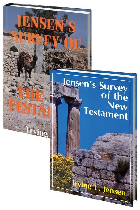 Jensen Survey-2 Volume Set-Old and New Testaments EB9780802482877