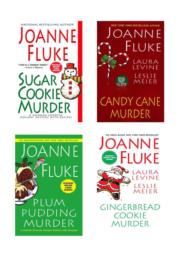 Joanne Fluke Christmas Bundle: Sugar Cookie Murder, Candy Cane Murder, Plum Pudding Murder, & Gingerbread Cookie Murder EB9780758281302
