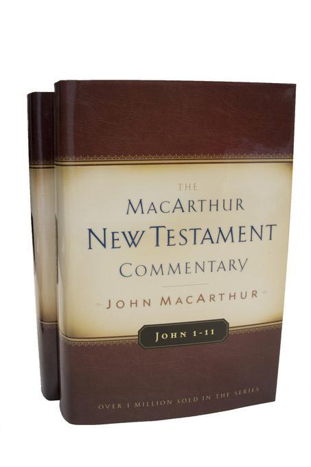 John 1-21 MacArthur New Testament Commentary Two Volume Set EB9780802482600