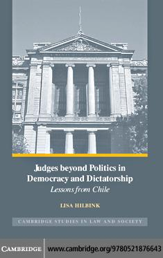 Judges beyond Politics in Democracy and Dictatorship EB9780511292859