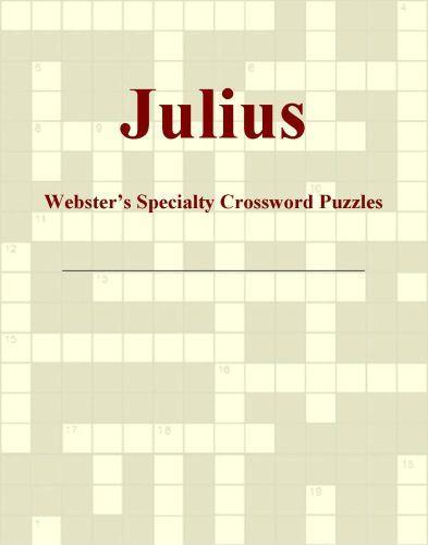 Julius - Webster's Specialty Crossword Puzzles