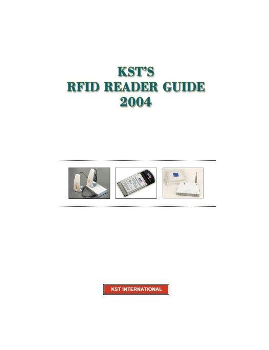 KST's RFID Reader Guide 2004 EB9780976078203