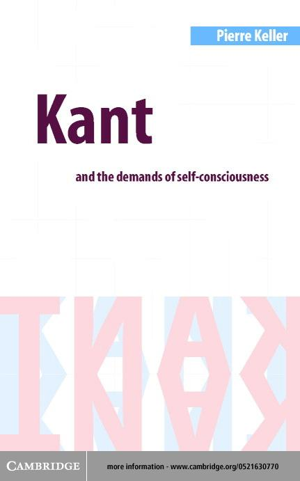 Kant and the Demands of Self-Consciousness EB9780511035739