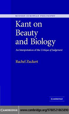 Kant on Beauty and Biology EB9780511332081