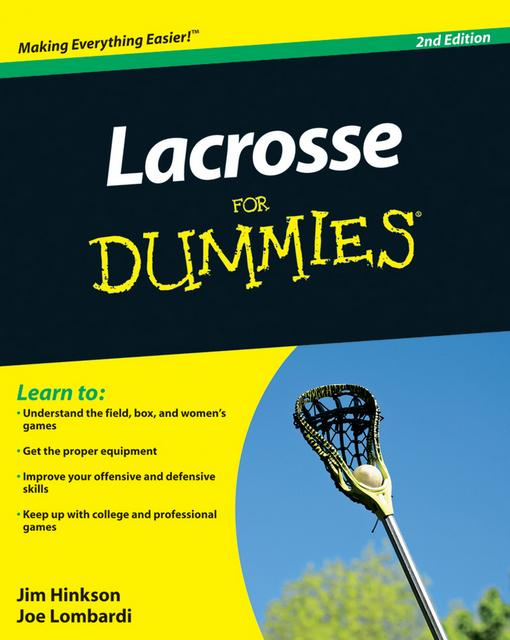 Lacrosse For Dummies EB9780470677391