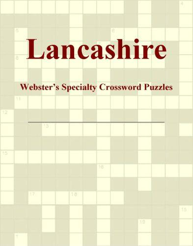 Lancashire - Webster's Specialty Crossword Puzzles EB9780546428438