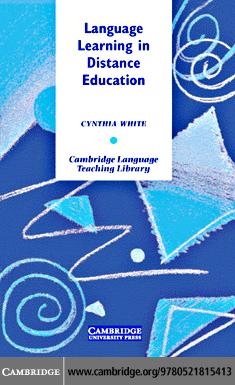 Language Learning in Distance Education EB9780511500534