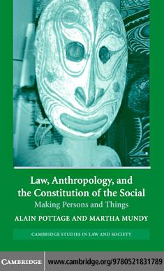 Law Anthropol Constitution Social EB9780511207129
