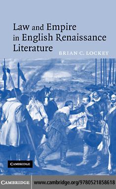 Law and Empire in English Renaissance Literature EB9780511243172