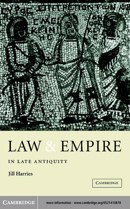 Law and Empire in Late Antiquity EB9780511037313