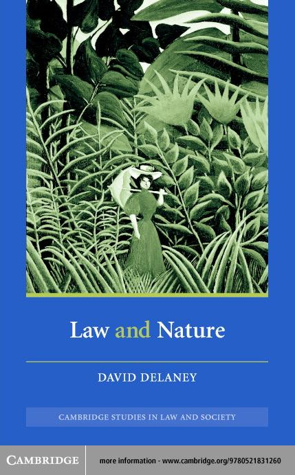 Law and Nature EB9780511056673
