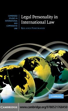 Legal Personality in International Law EB9780511904240