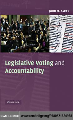 Legislative Voting and Accountability EB9780511474323