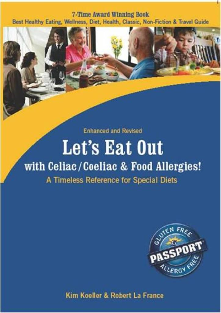 Let's Eat Out with Celiac / Coeliac & Food Allergies! (eBook Edition) EB9780976484561