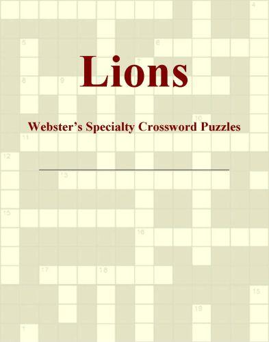Lions - Webster's Specialty Crossword Puzzles