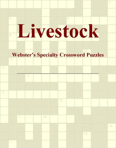 Livestock - Webster's Specialty Crossword Puzzles EB9780546819236