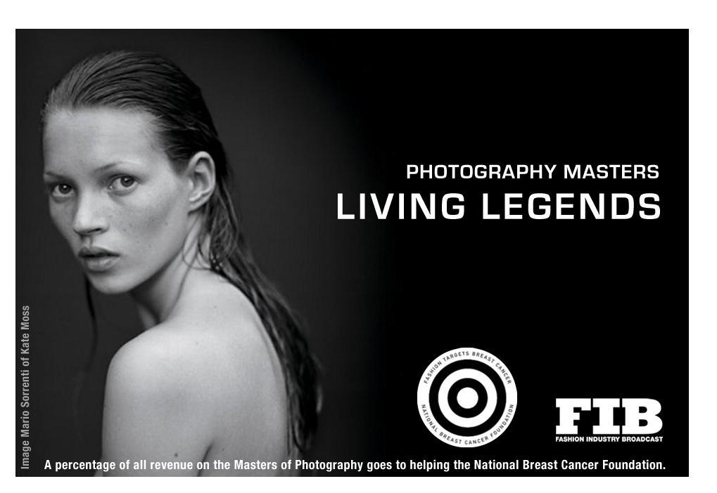 MASTERS OF PHOTOGRAPHY LIVING LEGENDS EB9780980818420