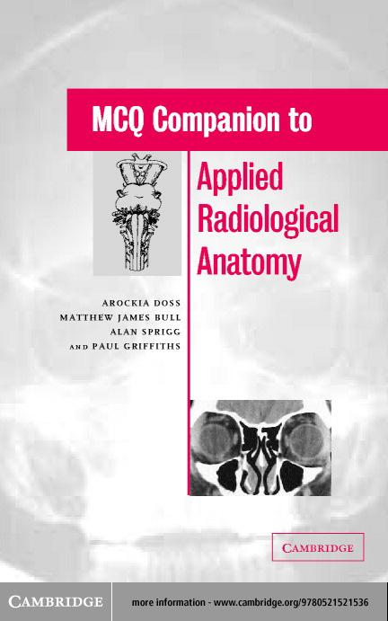 MCQ Companion to Applied Radiological Anatomy EB9780511059223