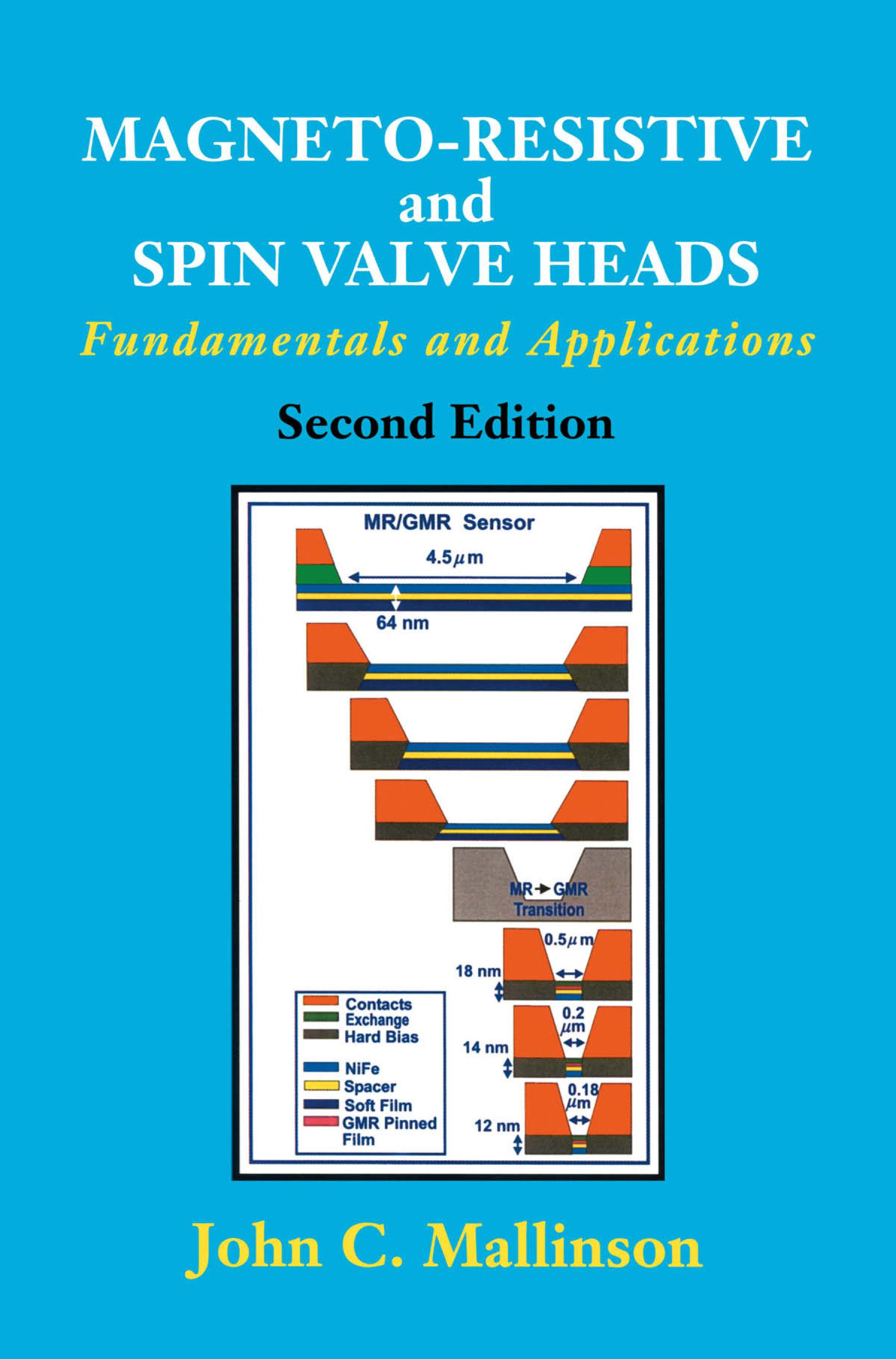 Magneto-Resistive and Spin Valve Heads: Fundamentals and Applications EB9780080510637