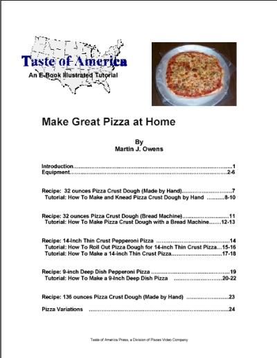 Make Great Pizza at Home EB9780974447001