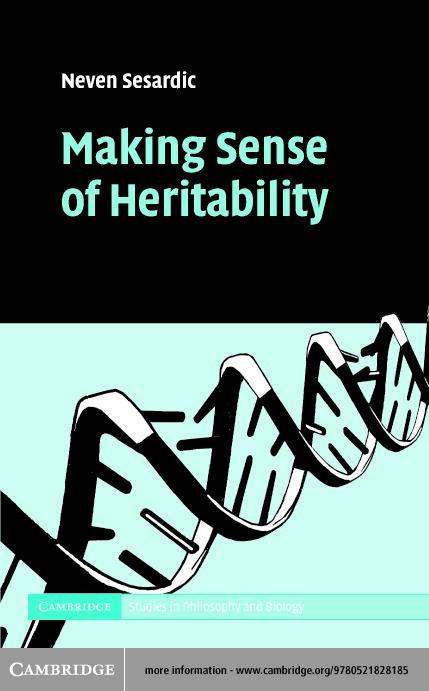 Making Sense of Heritability EB9780511131387