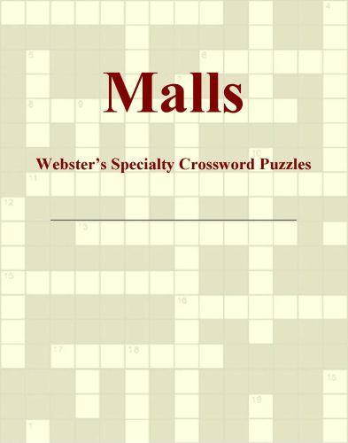 Malls - Webster's Specialty Crossword Puzzles EB9780546428735