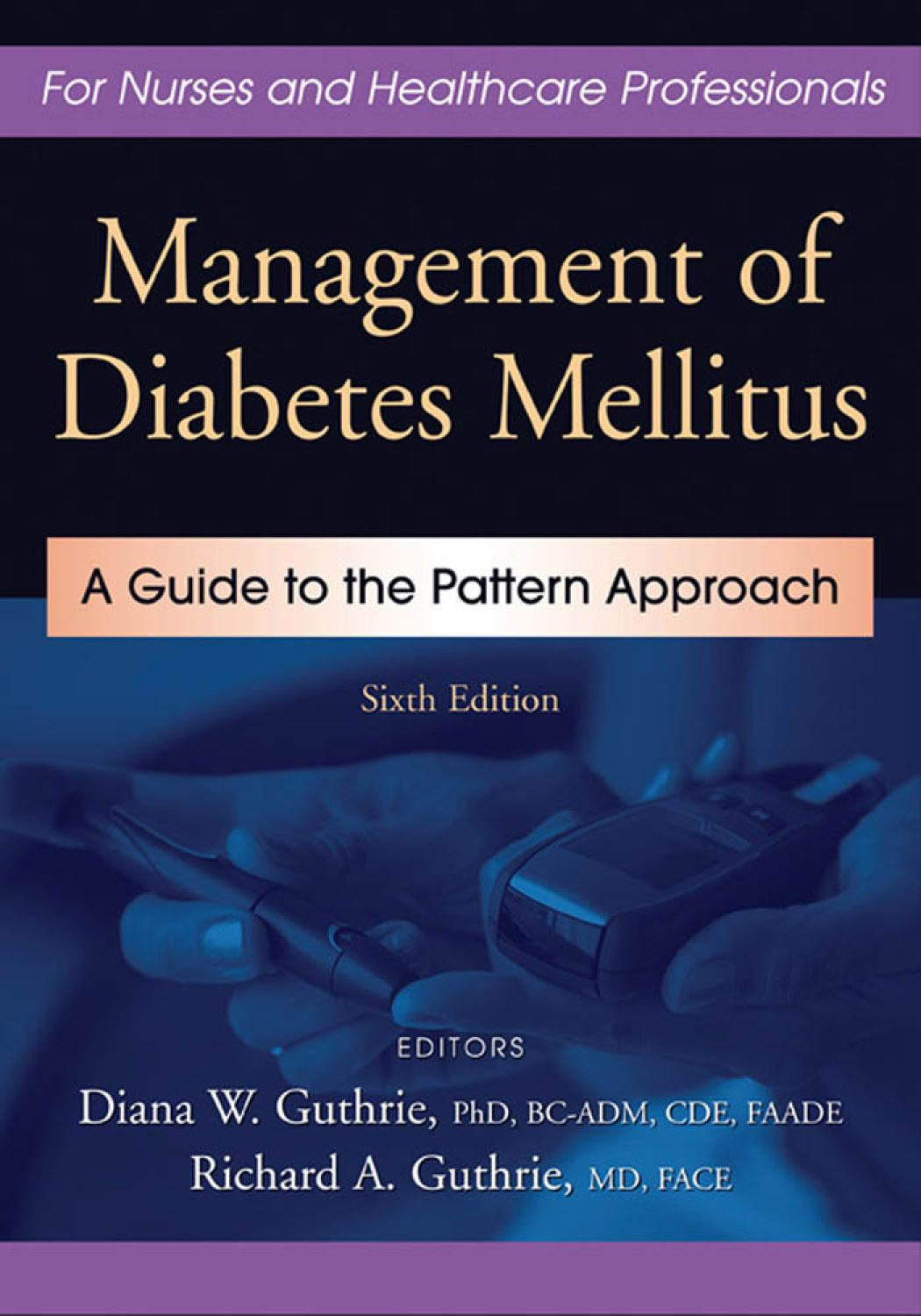 Management of Diabetes Mellitus: A Guide to the Pattern Approach EB9780826119100