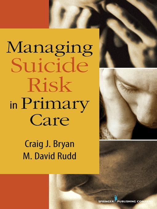 Managing Suicide Risk in Primary Care EB9780826110725