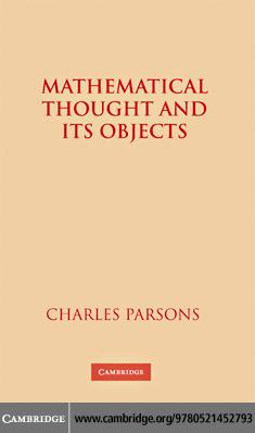 Mathematical Thought and Its Objects EB9780511372582