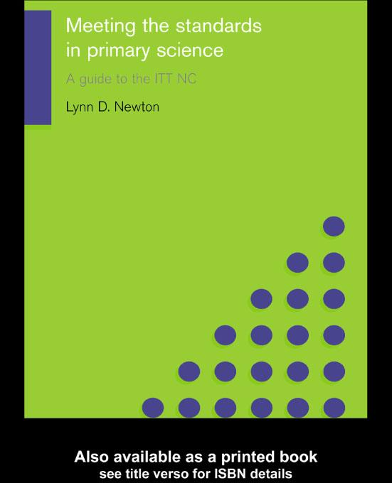 Meeting the Standards in Primary Science EB9780203184080
