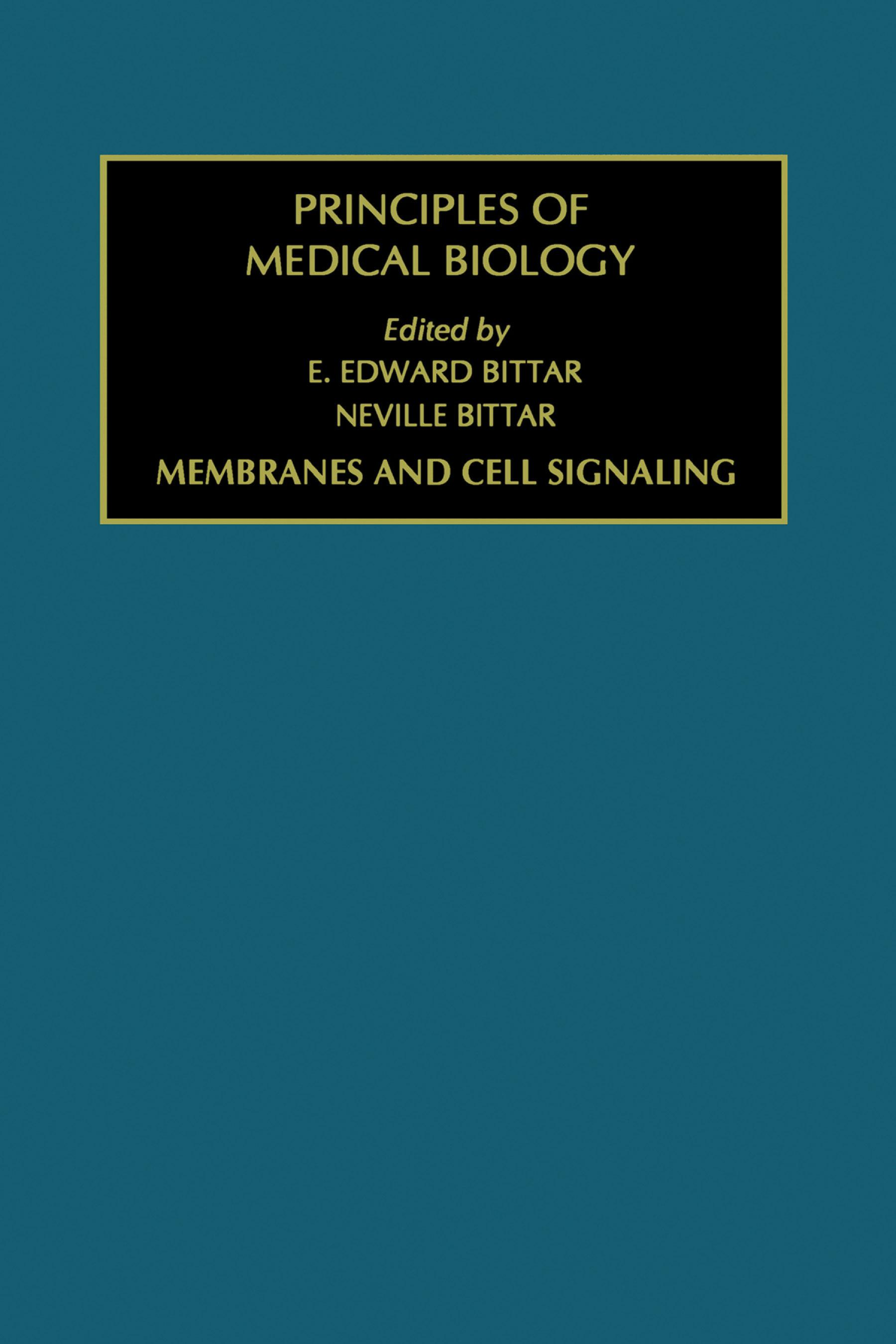 Membranes and Cell Signaling EB9780080536118