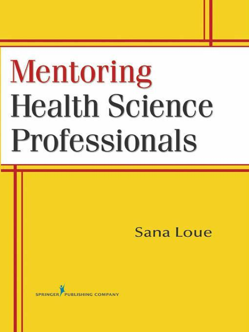 Mentoring Health Science Professionals EB9780826104779