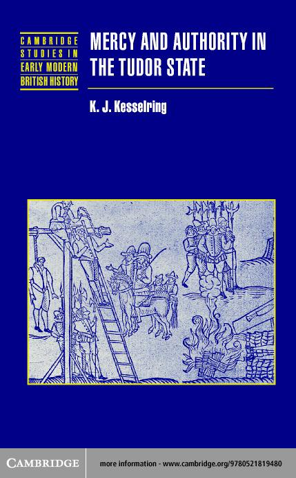 Mercy and Authority in the Tudor State EB9780511055232