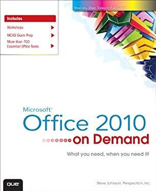 Microsoft Office 2010 On Demand EB9780132491570