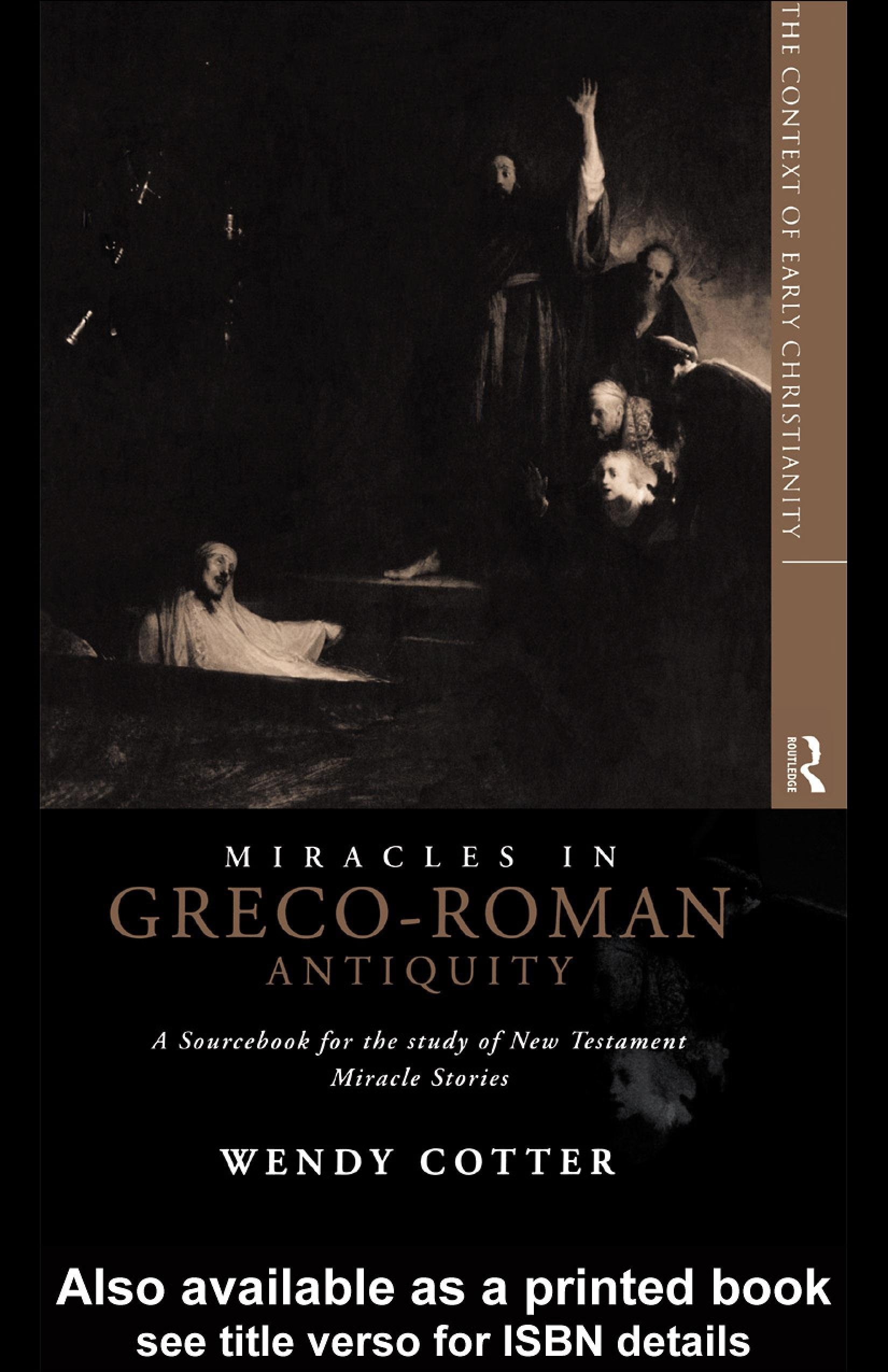 Miracles in Greco-Roman Antiquity EB9780203029558