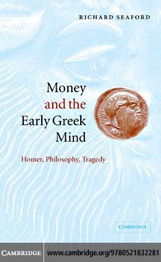 Money Early Greek Mind EB9780511189555
