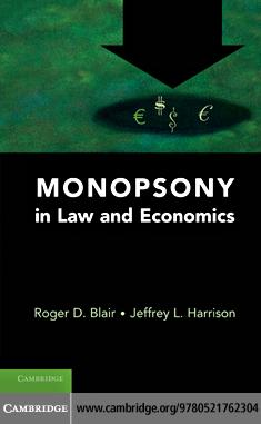 Monopsony in Law and Economics EB9780511796234