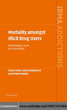 Mortality amongst Illicit Drug User EB9780511247781