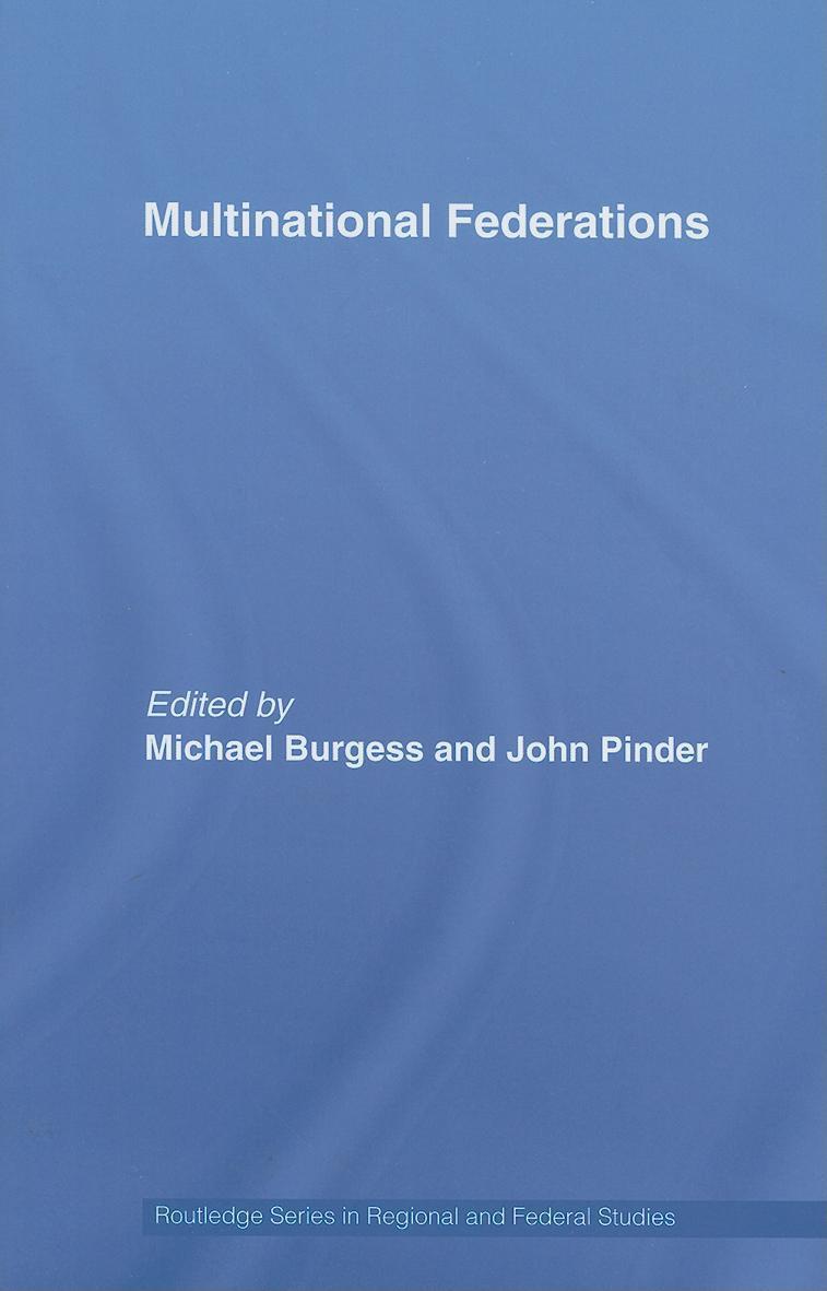 Multinational Federations EB9780203964514