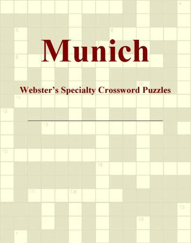 Munich - Webster's Specialty Crossword Puzzles EB9780546429114