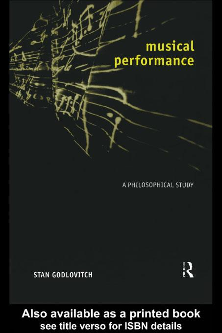 Musical Performance EB9780203025628